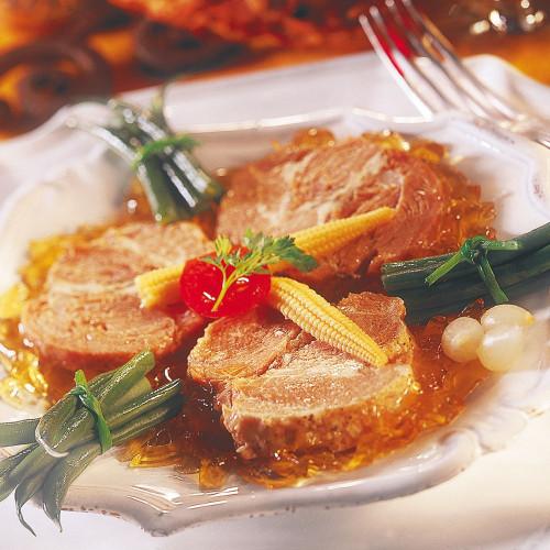 1 Rôti de Porc en Gelée 400 g + 1Terrine Campagnarde aux Herbes de Provence 65 g