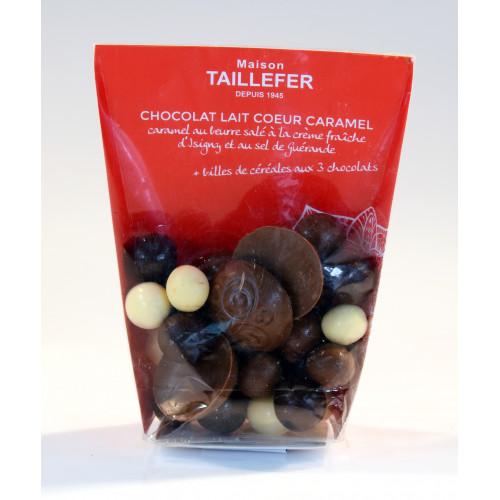 Les Domes de Chocolat Caramel au beurre Salé 100 g - WRH