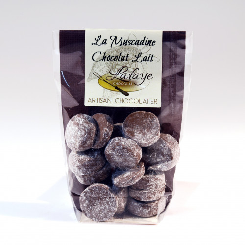 Les Muscadines Chocolat au Lait 100 g - WRH