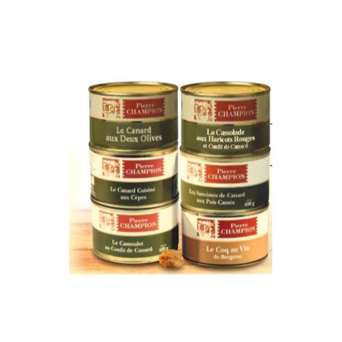 Le Colis 6 Plats Saveurs Gastronomiques 2420 g - WVD