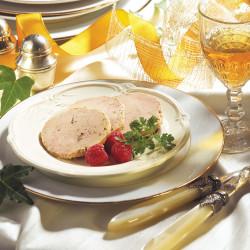 Le Foie Gras de Canard Entier du Sud-Ouest mi-cuit 180 g + Le Confit d'Emincés d'Oignons au Monbazillac  90 g- WFR