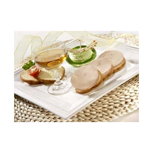 Le Plaisir au Foie Gras de Canard au Champagne et Poivre de Selim (20% de Foie Gras)