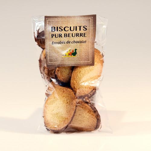 """Le lot de 2 """"Les Biscuits Pur Beurre Sapin Chocolat"""" - WRS"""