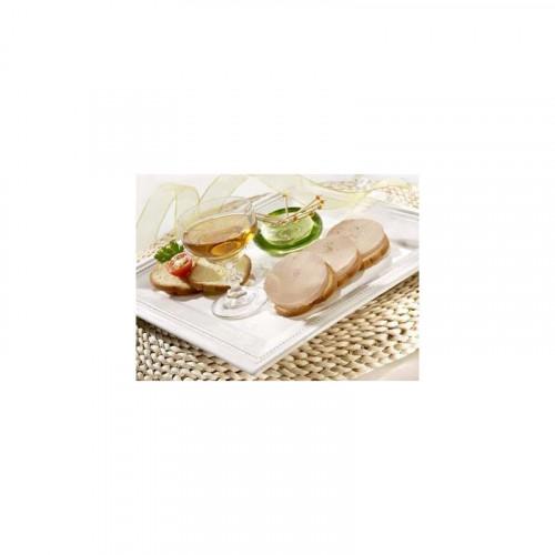 Le lot de 2 : Le Plaisir au Foie de Canard au champagne + Le Plaisir au Foie d'Oie à la figue et vin doux blanc du Périgord