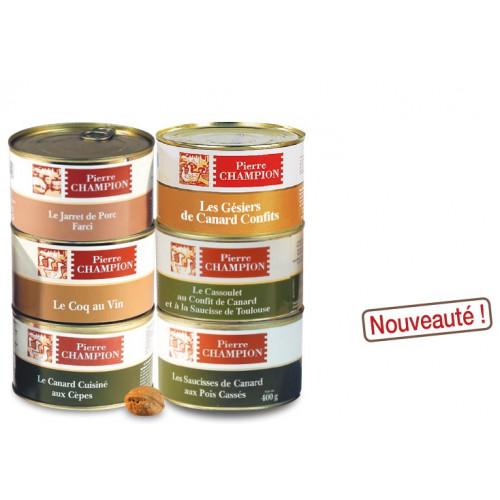Vos 6 Plats « Saveurs gastronomiques » 2,415 kg - WRF