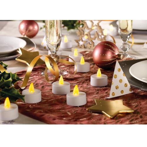 Votre cadeau de Noël : 18 Bougies à LED - WFZ
