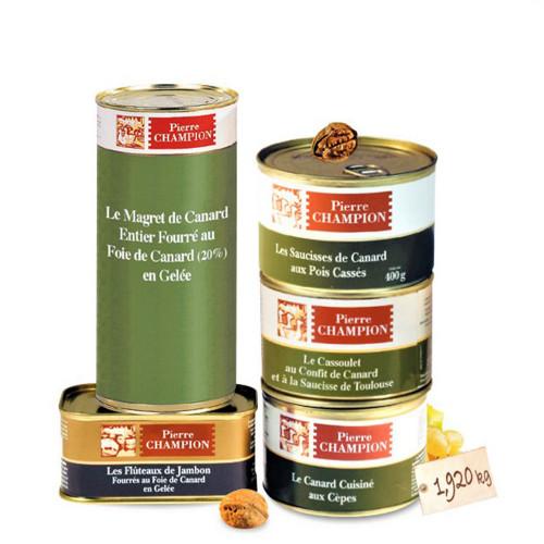 Vos « 5 Plats Saveurs gastronomiques » 1,605 kg - WFZ
