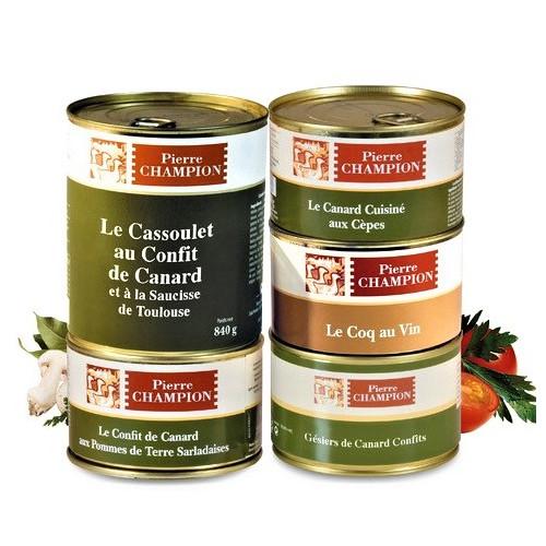 Vos « 5 Plats Saveurs gastronomiques » 2,355 kg - WFY2020