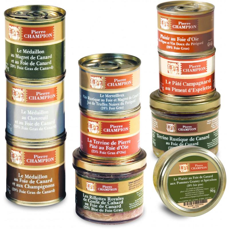 Votre Colis « 10 délices au Foie Gras »