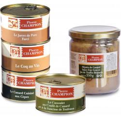 Votre Colis « 5 Plats Saveurs Gastronomiques » - WRF