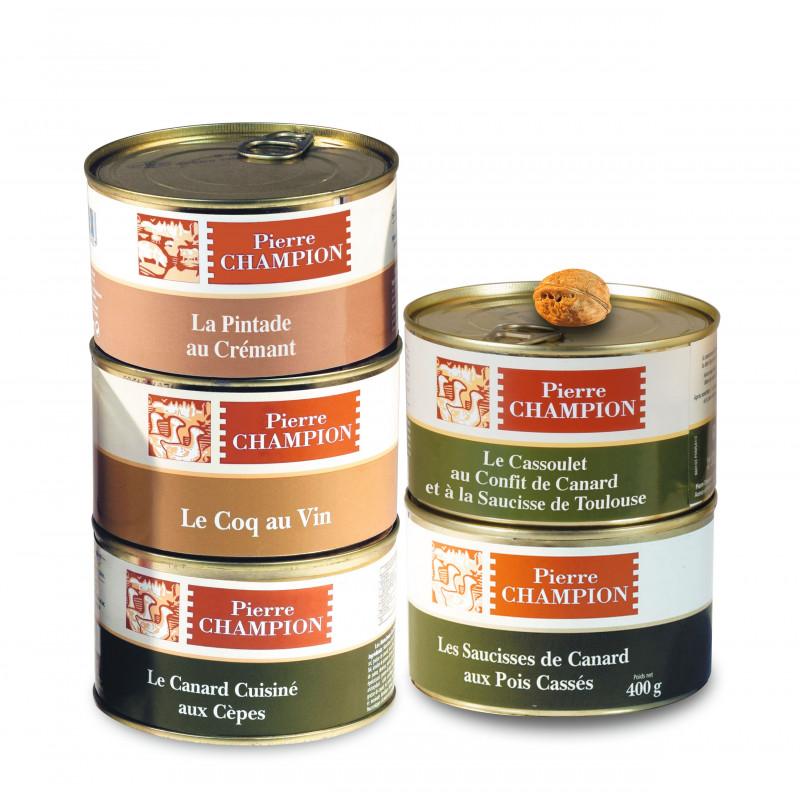 """Le Colis """"Saveurs Gastronomiques en 5 Plats"""""""