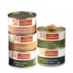 """Les 2 Colis """"Saveurs Gastronomiques en 5 Plats"""" - WVCP1"""