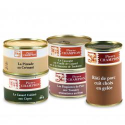 """Votre colis """" 5 Plats Gastronomiques """" - WFZT"""