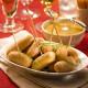 Les Petits Boudins Blancs au Sauternes en Sauce au Foie de Canard + Les Petites Saucisses Cocktail au Piment d'Espelette