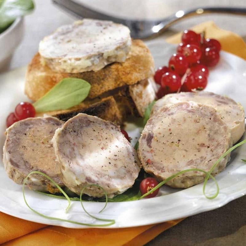Le Médaillon au Chevreuil et au foie de canard (20% Foie Gras de Canard)