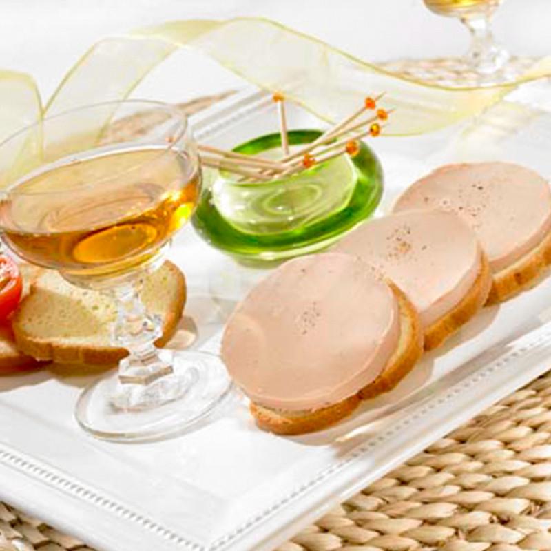Le Plaisir au Foie d'Oie, à la Figue et Vin Doux Blanc du Périgord (20% de Foie Gras)