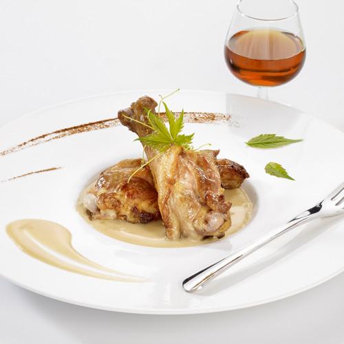 Mijotée de Canard Sauce Foie Gras et Jus de Truffes Brumale