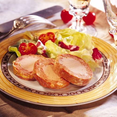 Le Médaillon au Magret de Canard et au Foie de Canard (20% Foie Gras de Canard) - 100 g