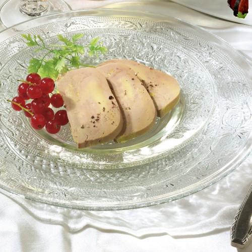 Le Foie Gras de Canard Entier du Sud-Ouest cuit au torchon en gelée au Sauternes  - 200g - CAT