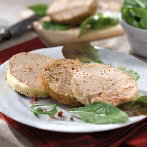 La Terrine de Pierre,  Pâté au foie d'oie (25% de Foie Gras) - 65 g - CAT