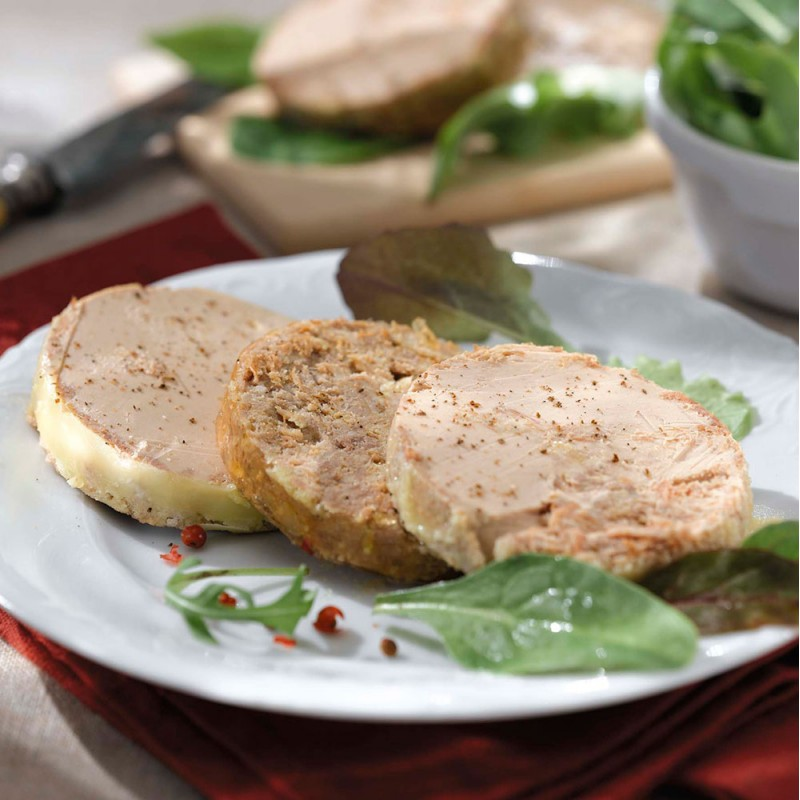 La Terrine de Pierre,  Pâté au foie d'oie (25% de Foie Gras)