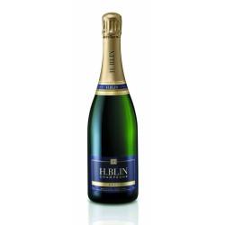 """Champagne Brut """"Blin"""" Tradition - La bouteille de 75 cl - CAT"""