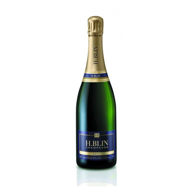 """Champagne Brut """"Blin"""" Tradition La bouteille de 37,5 cl"""