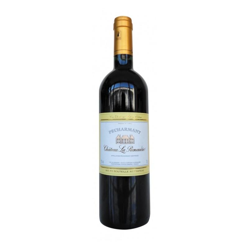 """Pécharmant Rouge """"Château La Rénaudie"""" La bouteille de 75 cl"""