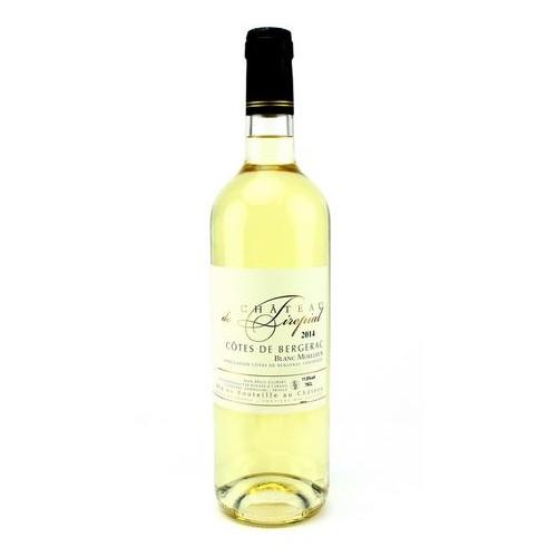 Bergerac moelleux Château de Tirepial La bouteille de 37.5 cl