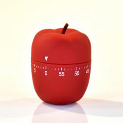 Le Minuteur de Cuisine en Forme de Pomme Rouge - WMAI